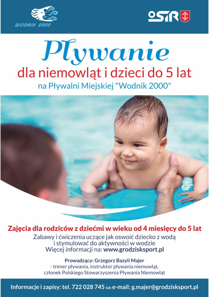 Pływanie dla niemowląt i dzieci do 5 lat