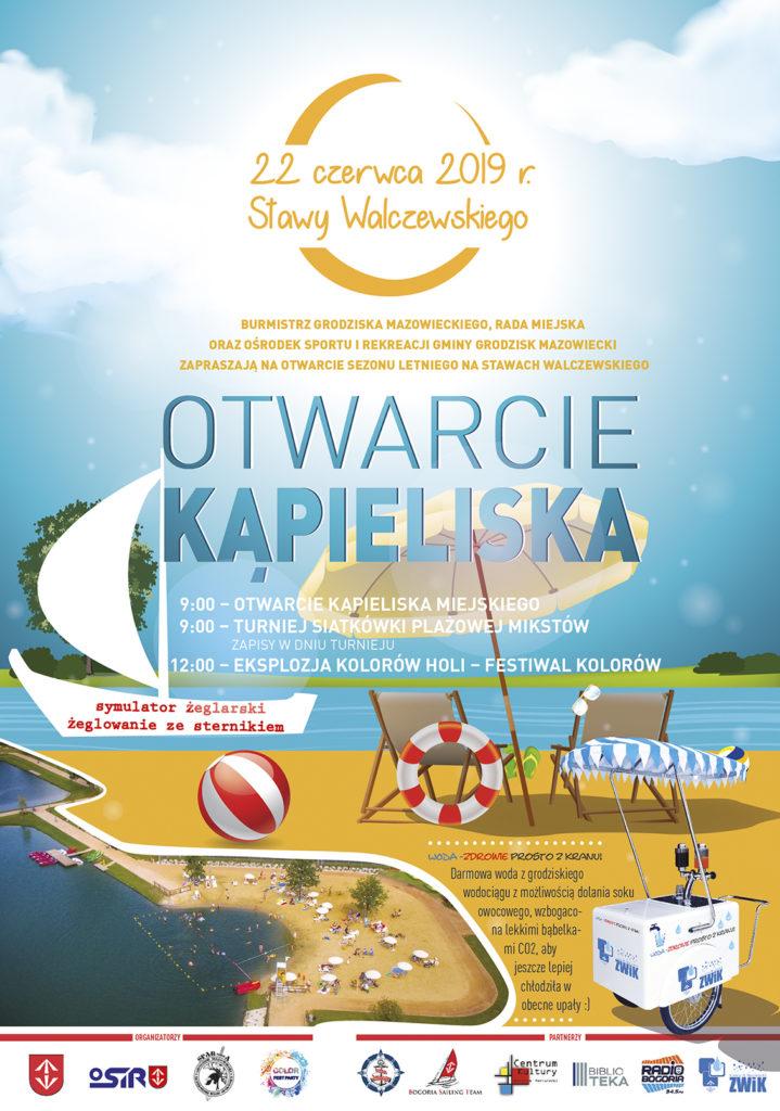 Otwarcie sezonu letniego na Stawach Walczewskiego