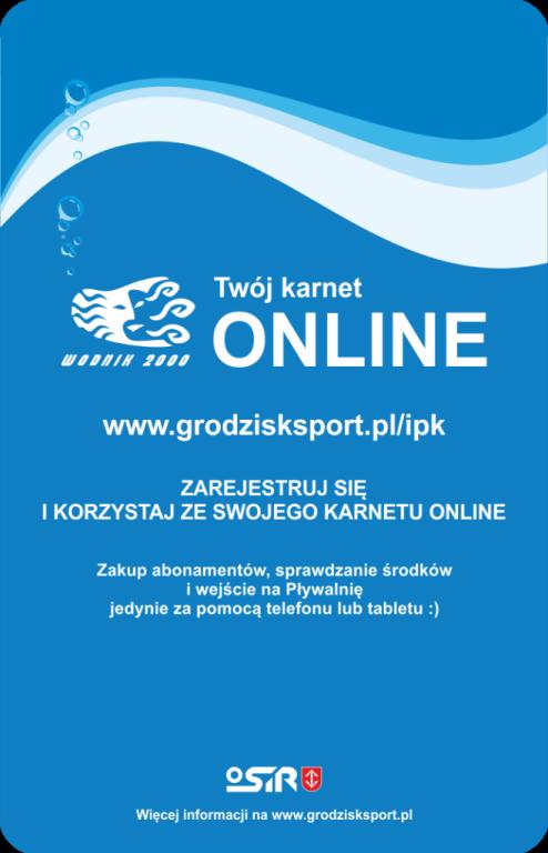 Karnety Online OSiR Grodzisk Mazowiecki