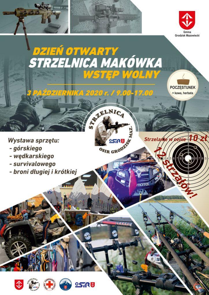 Dzień otwarty, 3 października 2020 r., Strzelnica Makówka - wstęp wolny